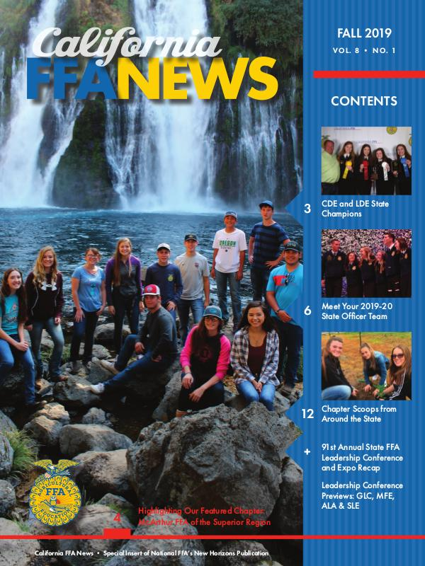 California FFA News Fall 2019