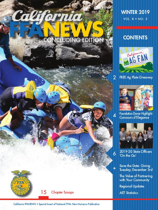 California FFA News Winter 2019