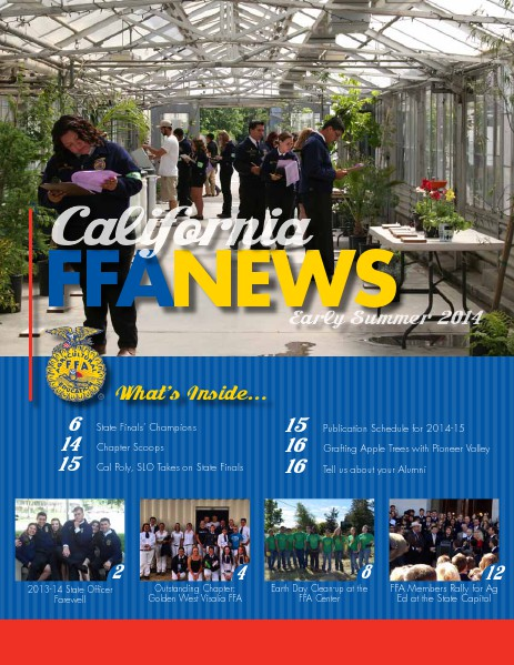 California FFA News Early Summer 2014