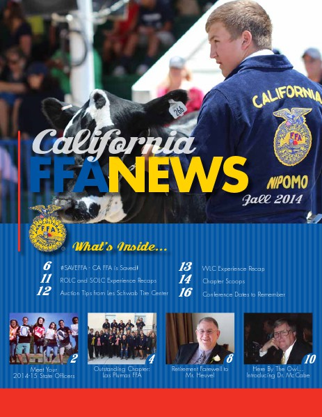 California FFA News Fall 2014