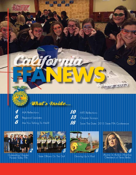 California FFA News Spring 2015