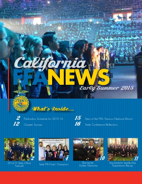 California FFA News Early Summer 2015