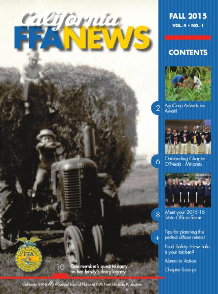 California FFA News Fall 2015