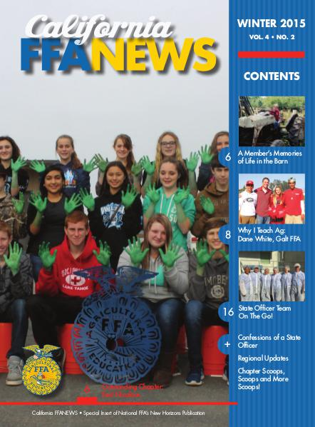 California FFA News Winter 2015