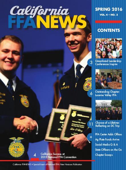 CA FFA News Spring 2016
