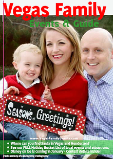 Vegas Family Events & Guide December 2013