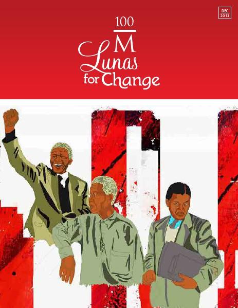 100 M Lunas for Change Dec 2013