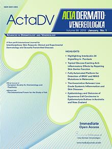 Acta Dermato-Venereologica issue 50:1