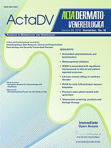 Acta Dermato-Venereologica