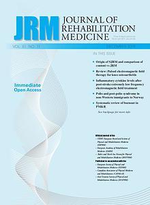 Journal of Rehabilitation Medicine