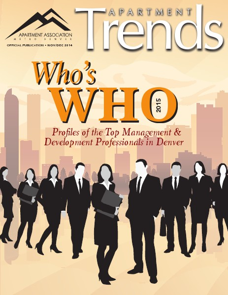 Apartment Trends Magazine November / December 2014