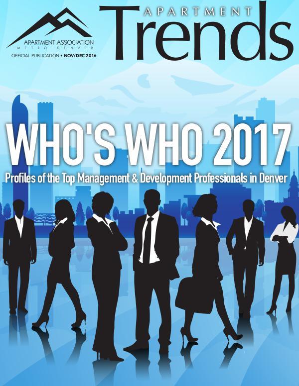 Apartment Trends Magazine November / December 2016