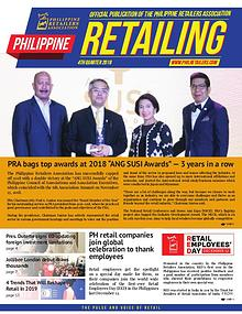 Philippine Retailing Newsletters 2018