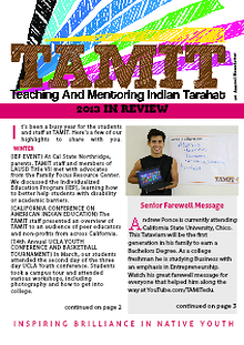 TAMIT Annual News Letter