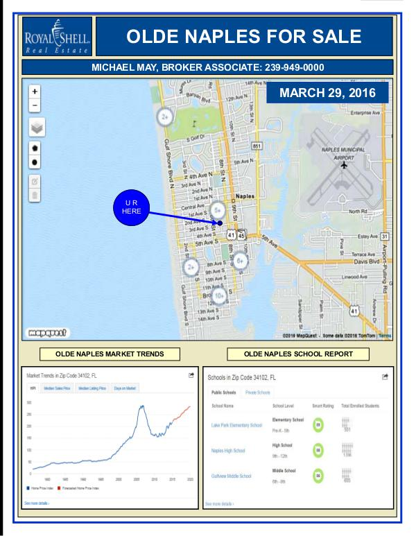 SW Florida E-News Magazine For March 29th, 2016 SOUTHWEST FLORIDA REAL ESTATE NEWS, March 29, 2016
