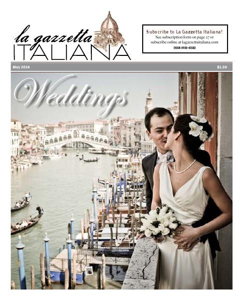 La Gazzetta Italiana 14   15   16 Weddings