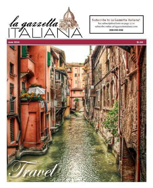 La Gazzetta Italiana 14 | 15 | 16 Travel