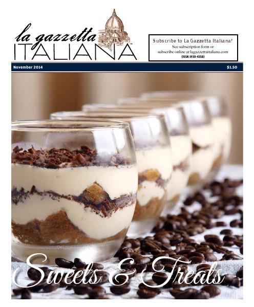 La Gazzetta Italiana 14 | 15 | 16 Sweets & Treats