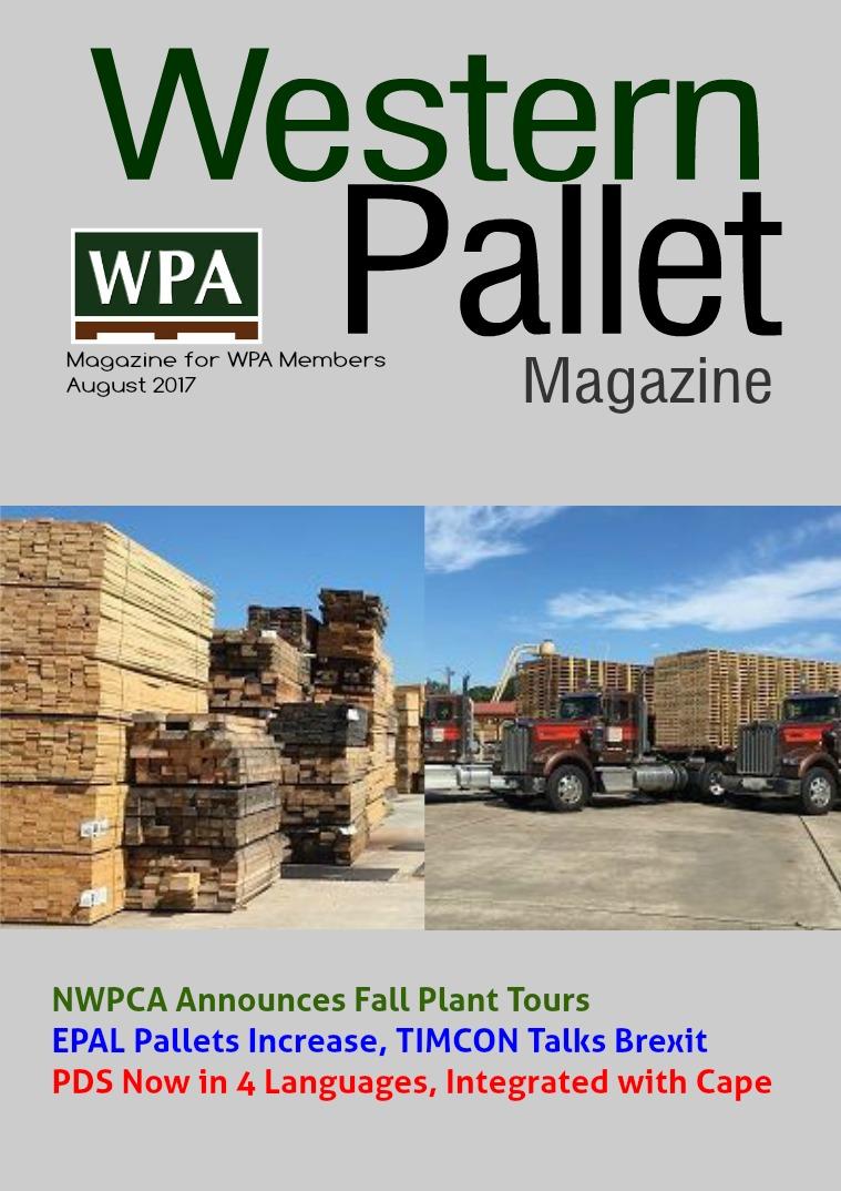 Western Pallet Magazine August 2017