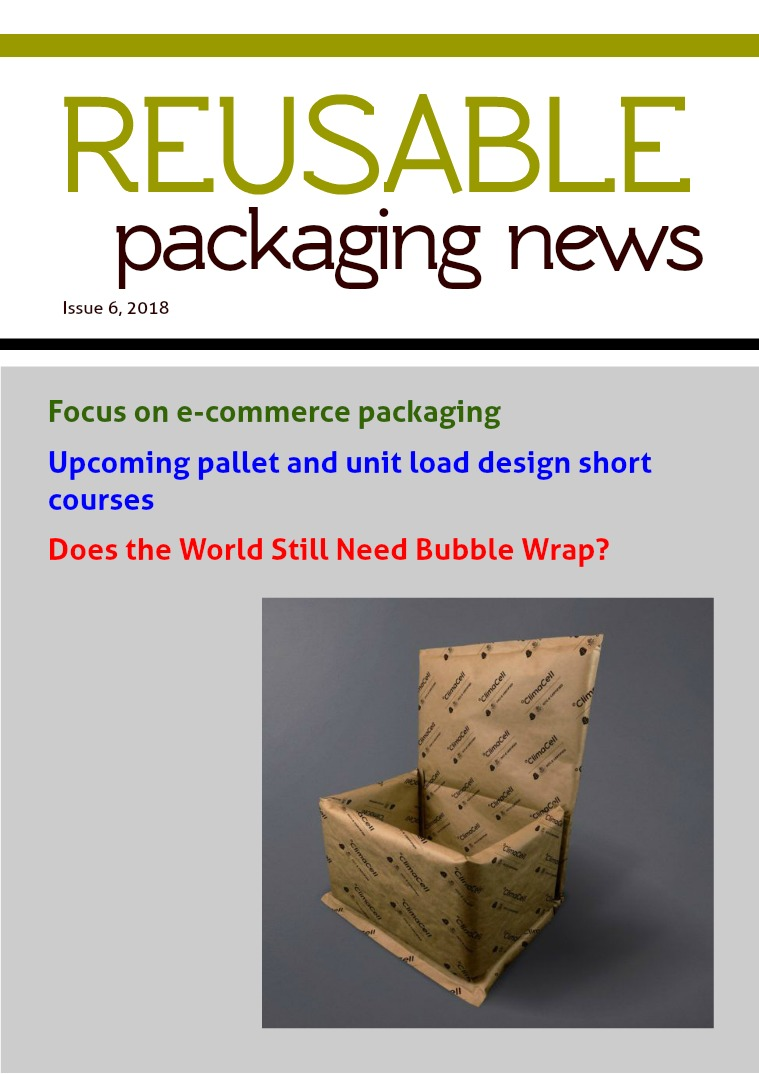 Reusable Packaging News No. 6, 2018
