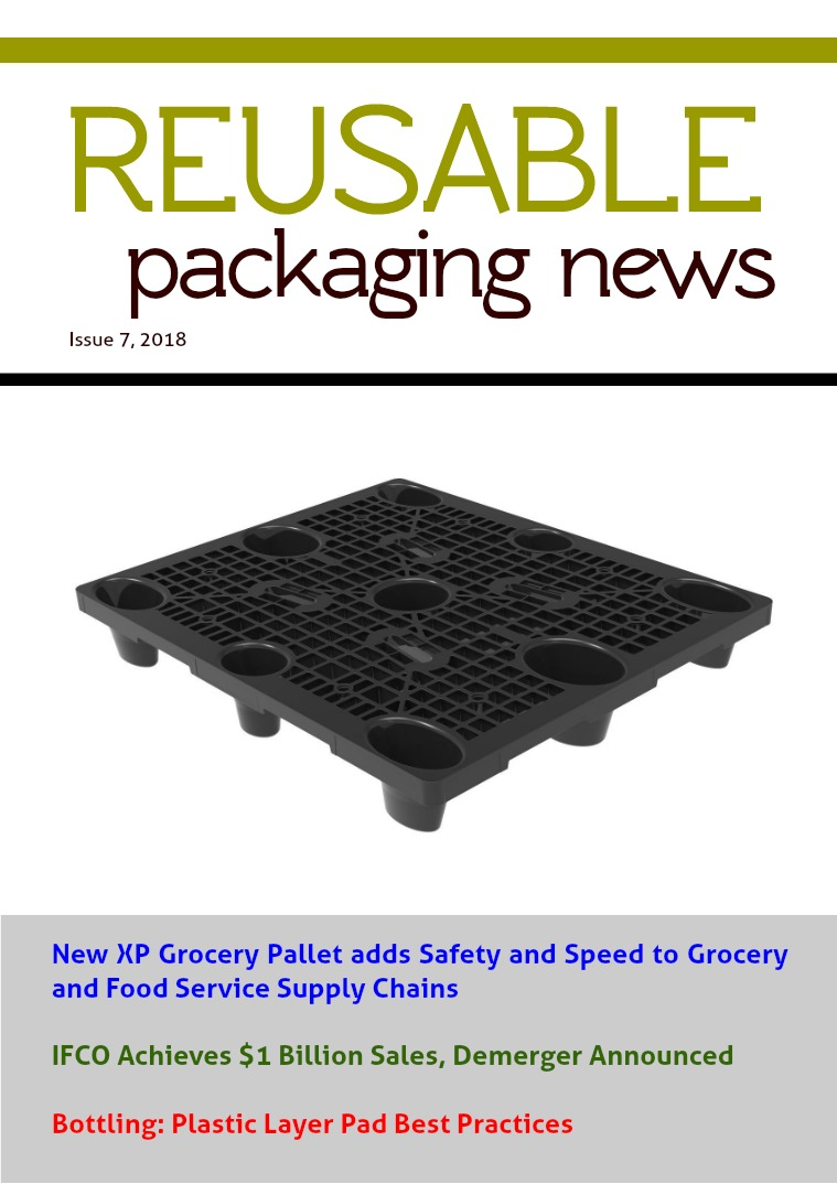 Reusable Packaging News No. 7, 2018