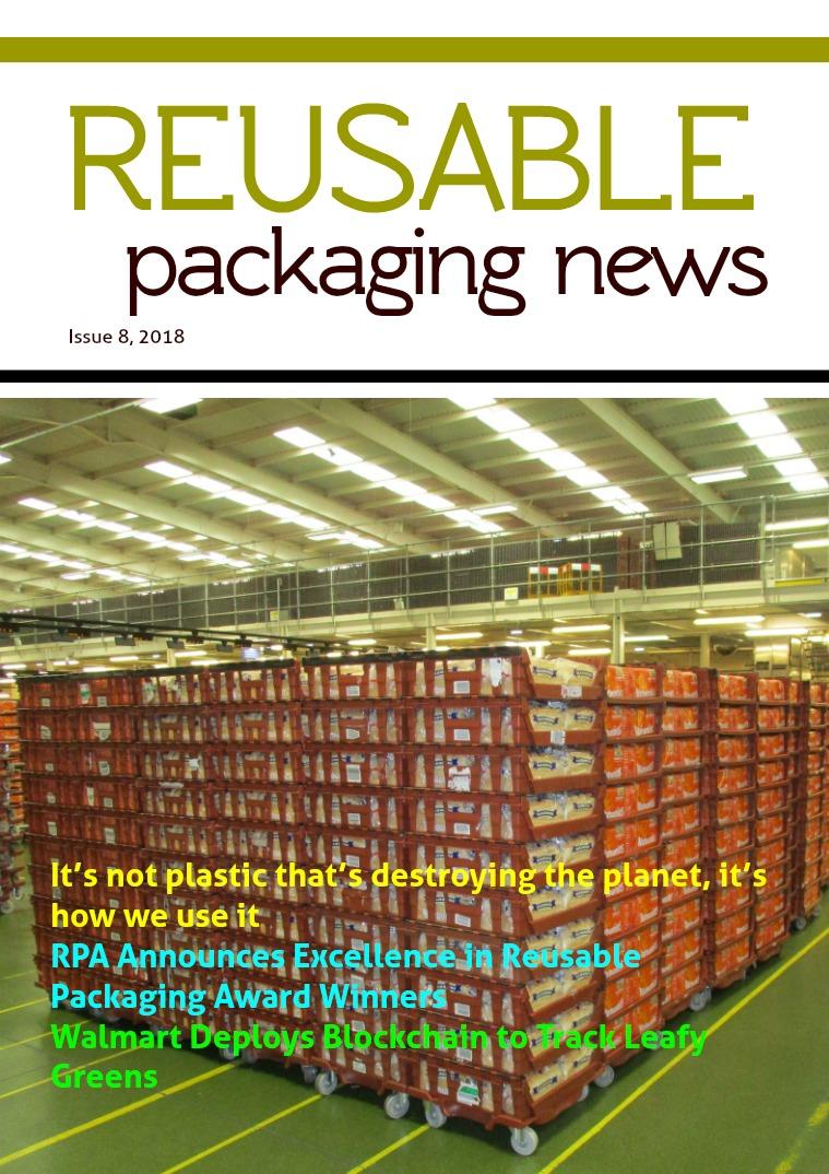 Reusable Packaging News No. 8, 2018