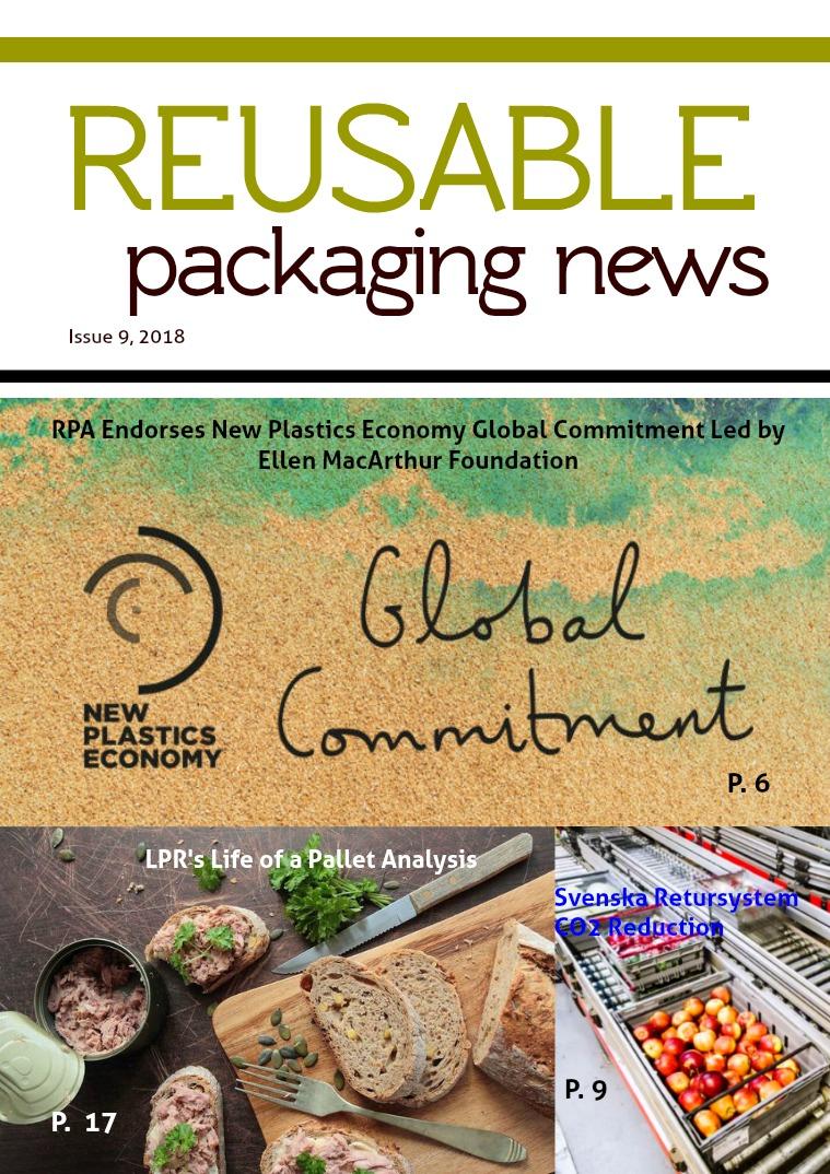 Reusable Packaging News No. 9, 2018