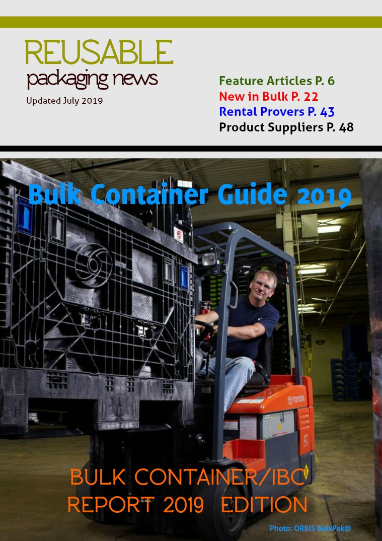 Reusable Packaging News No. 3, 2019 Bulk Container Special