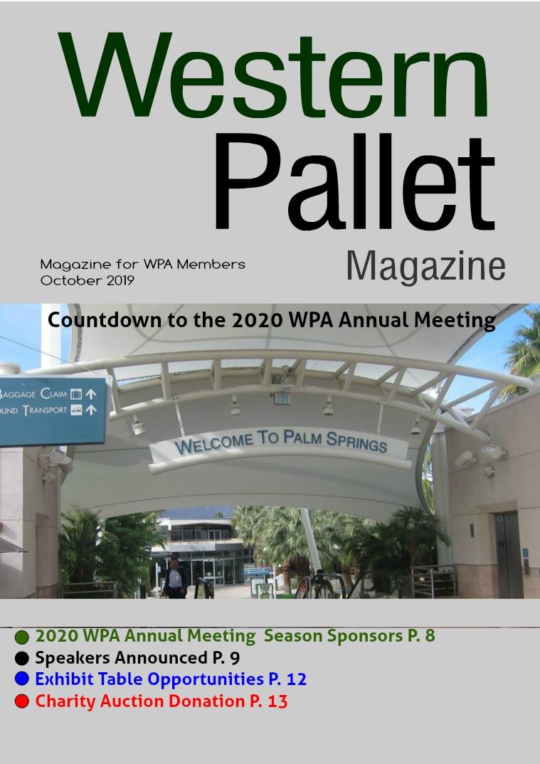Western Pallet Magazine October 2019