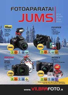 """""""Fotoaparatai Jums"""" prekių katalogas"""