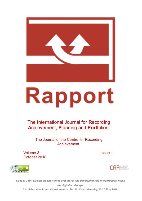 RAPPORT Vol 3 Issue 1