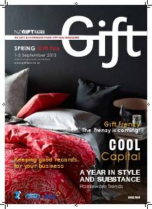 Gift Spring Gift Fair magazine, September 2013
