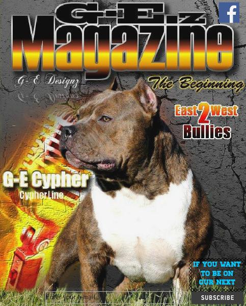 G-E'z Magazine Issue 1