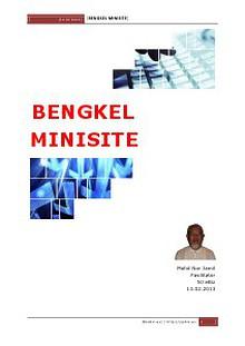 Bengkel Mini Website