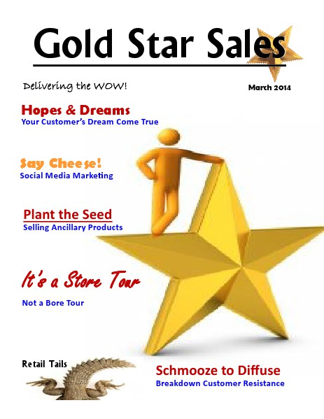 Gold Star Sales March 1