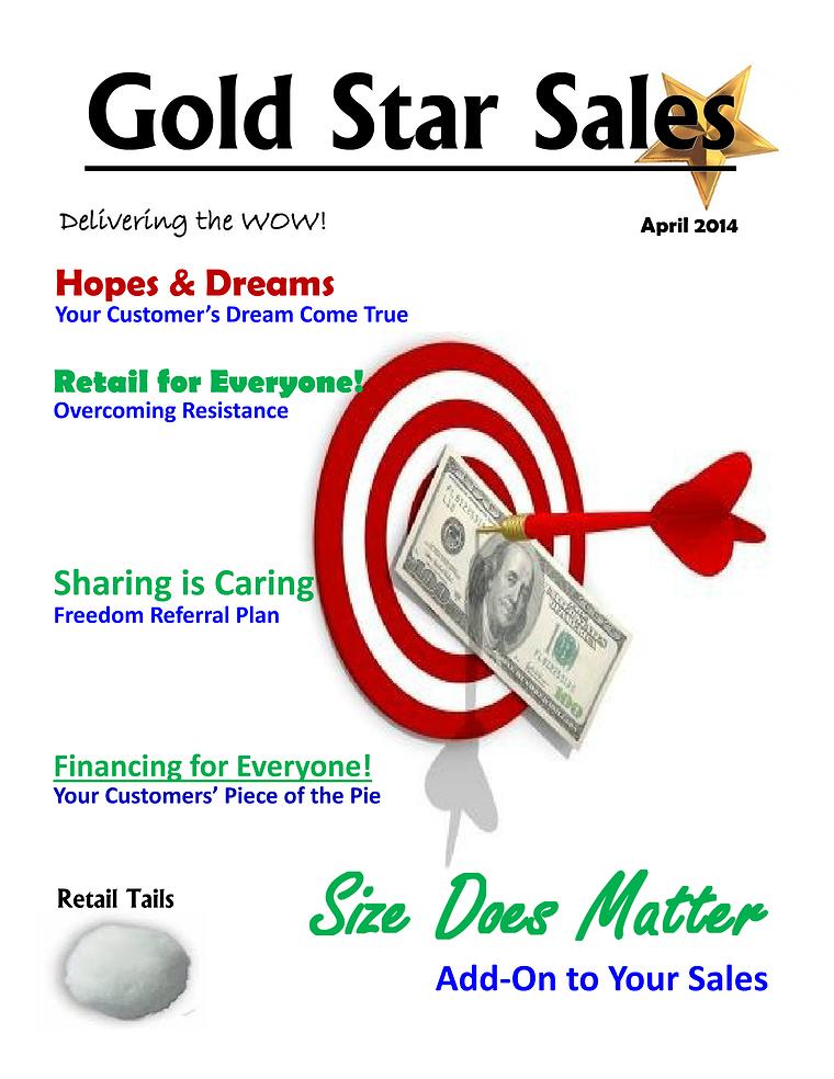 April Gold Star Edition 1