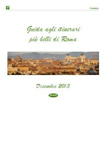 Guide agli itinerari più belli d'Italia Roma - Dic. 2013