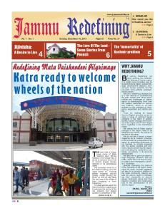 Jammu Redefining Magazine 15th Dec - 28 Dec' 13