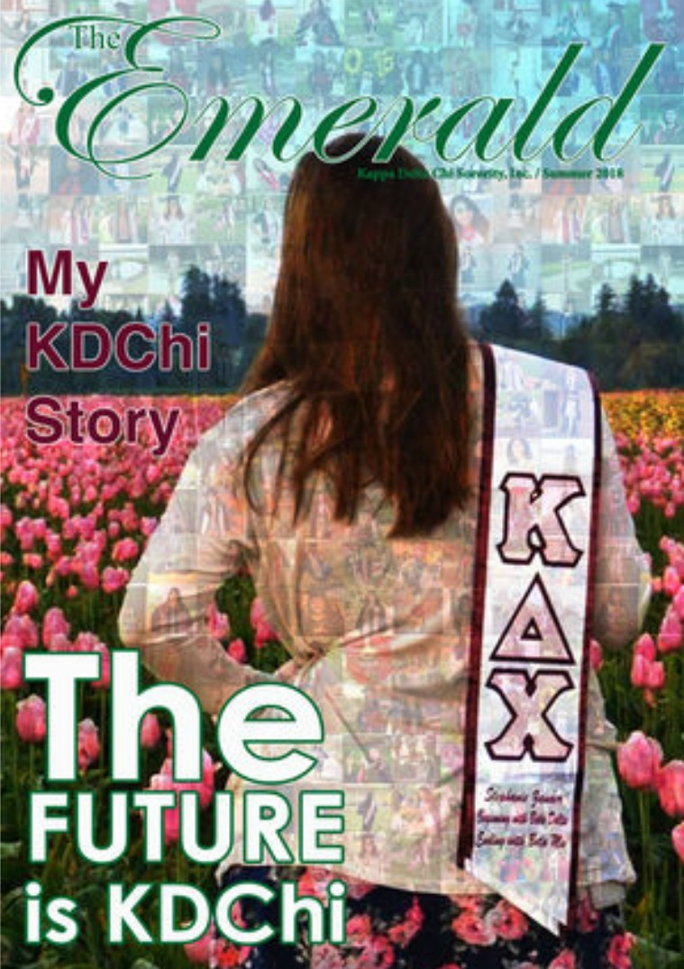 The Emerald Newsletter | Kappa Delta Chi Sorority Summer-Fall 2018