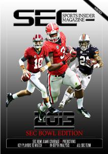 SEC Sports Insider Magazine 2013 Bowl Edition