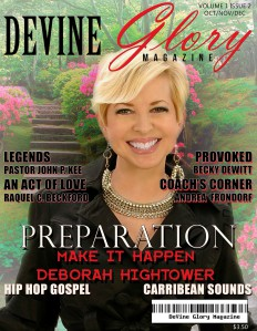 Devine Glory Magazine Preparation: Winter 2013