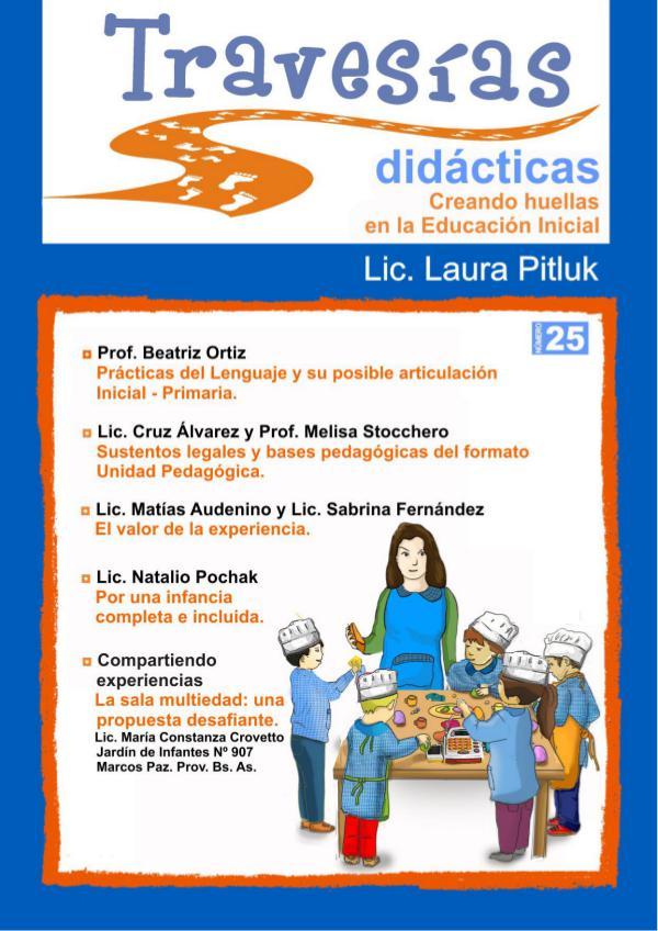 Revista Travesías didácticas Nº 25 Travesias-Julio2017 b