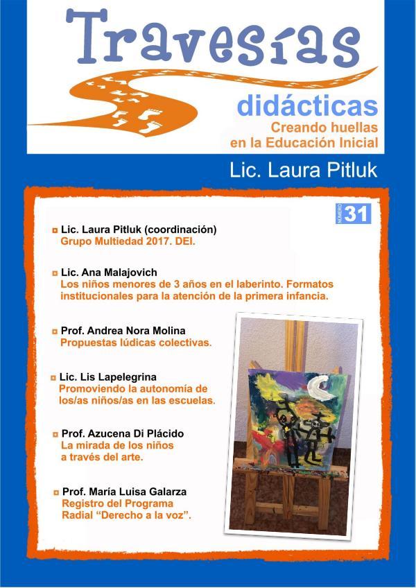 Revista Travesías Didácticas Nº 31 - Diciembre 2019