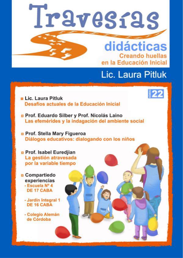 Revista Travesías Didácticas Nº 22