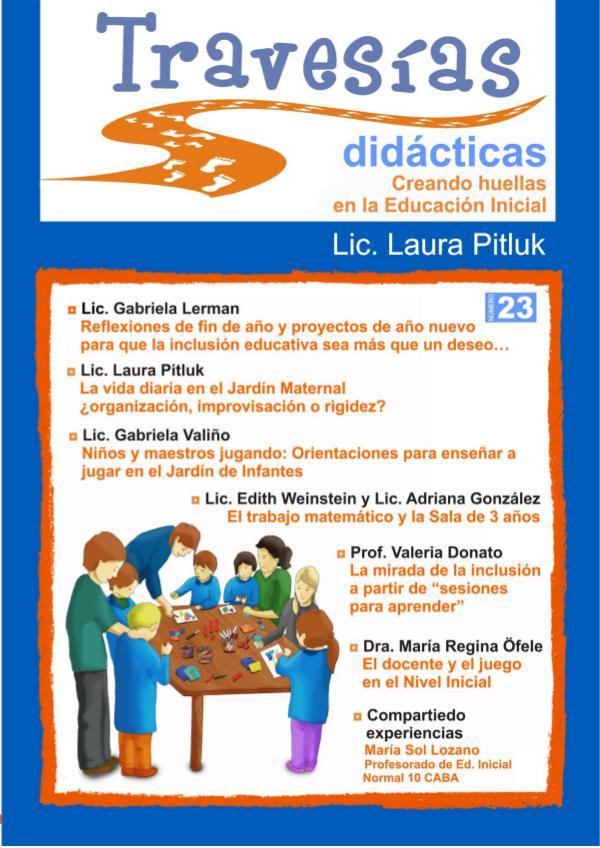 Revista Travesías Didácticas Nº 23 Revista Travesías Didácticas Nº 23