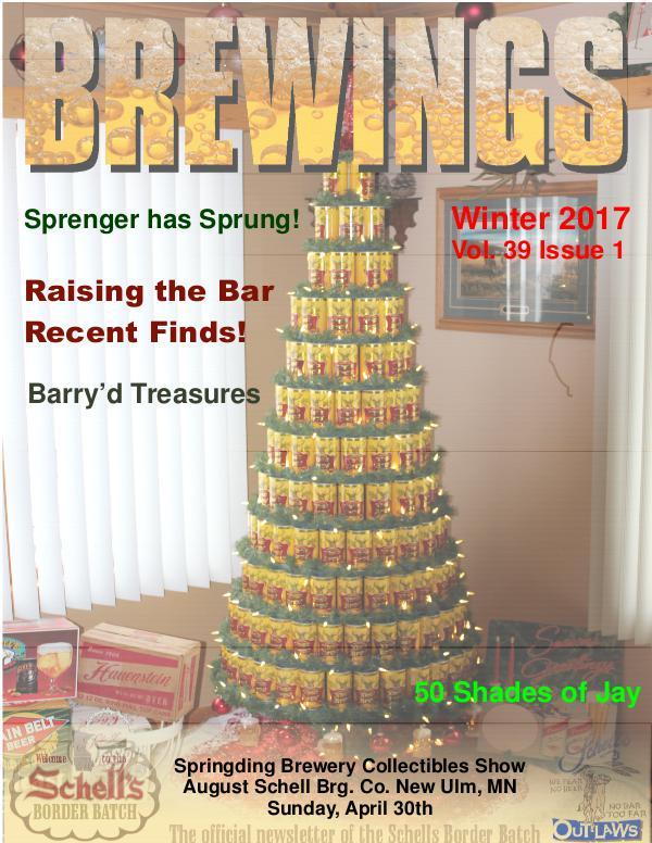 Brewings Brewings Vol 39 Issue 1