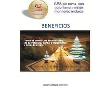 GPS SIN RENTA CON PLATAFORMA DE MONITOREO INCLUIDA