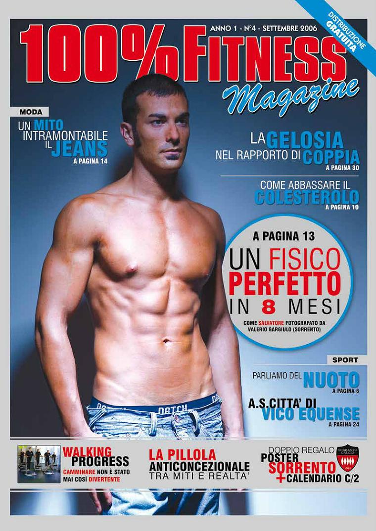 100% Fitness Mag - Anno 0 Settembre 2006