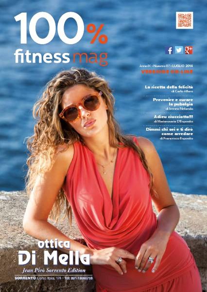 100% Fitness Mag - Anno VIII Luglio 2014
