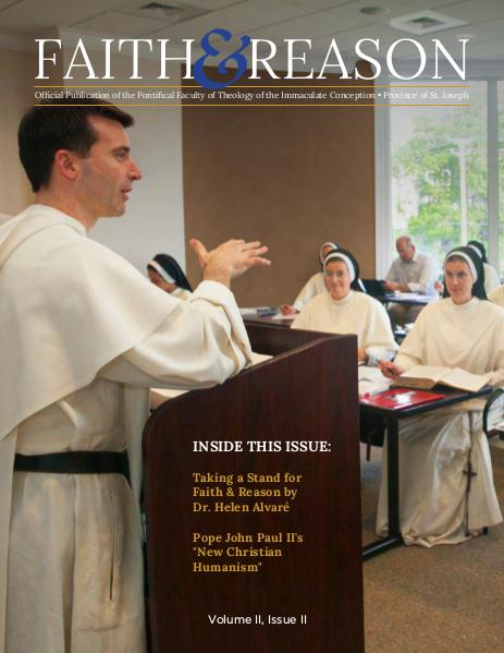 Faith & Reason Volume II, Issue II
